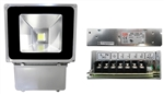 70W EPISTAR LED Floodlight with Power Supply 24V DC