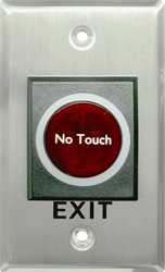 No touch Door Release Exit Sensor No Touch