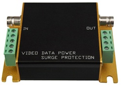 Video Ground loop Isolator, Surge protectors, single channel video/ Data, UTP balun