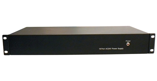 16 Port 20 AMP 24VAC Power Server